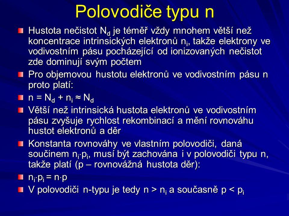 Polovodiče typu n