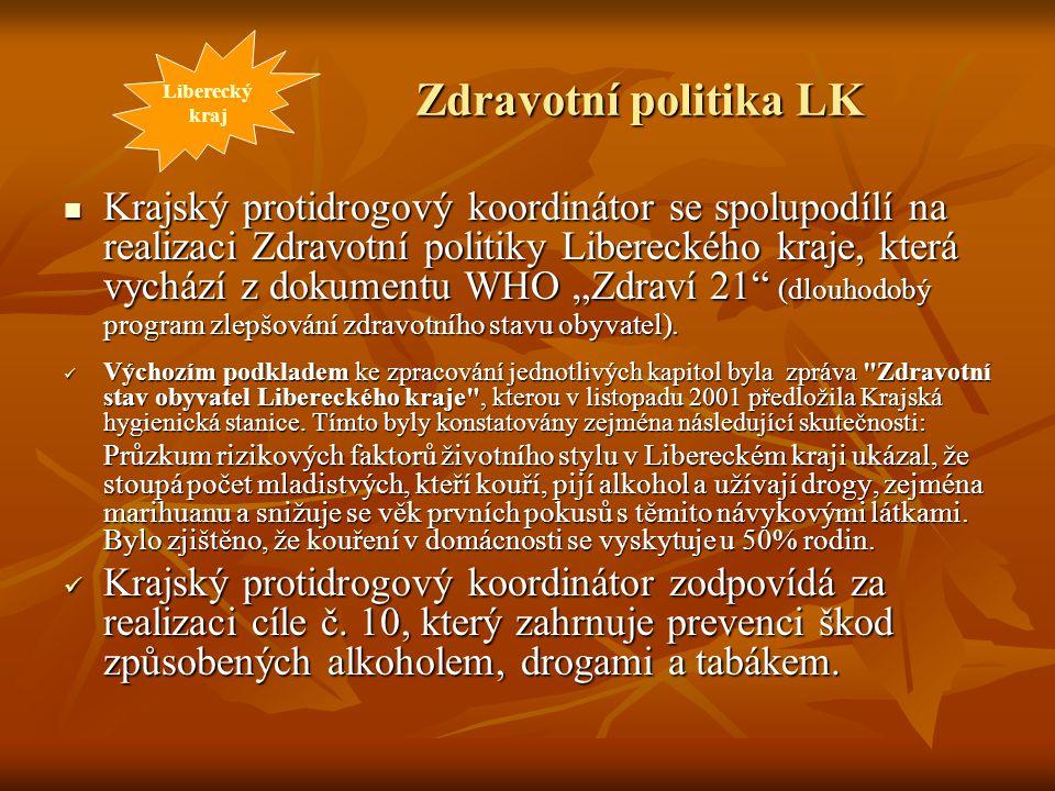 Liberecký kraj. Zdravotní politika LK.
