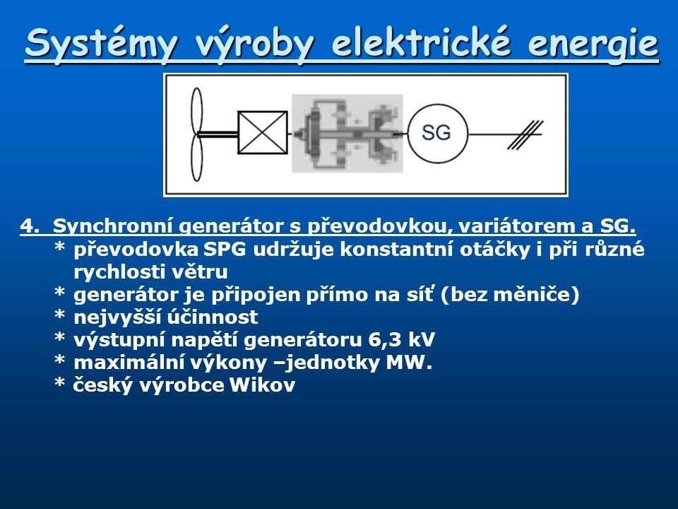 Systémy výroby elektrické energie