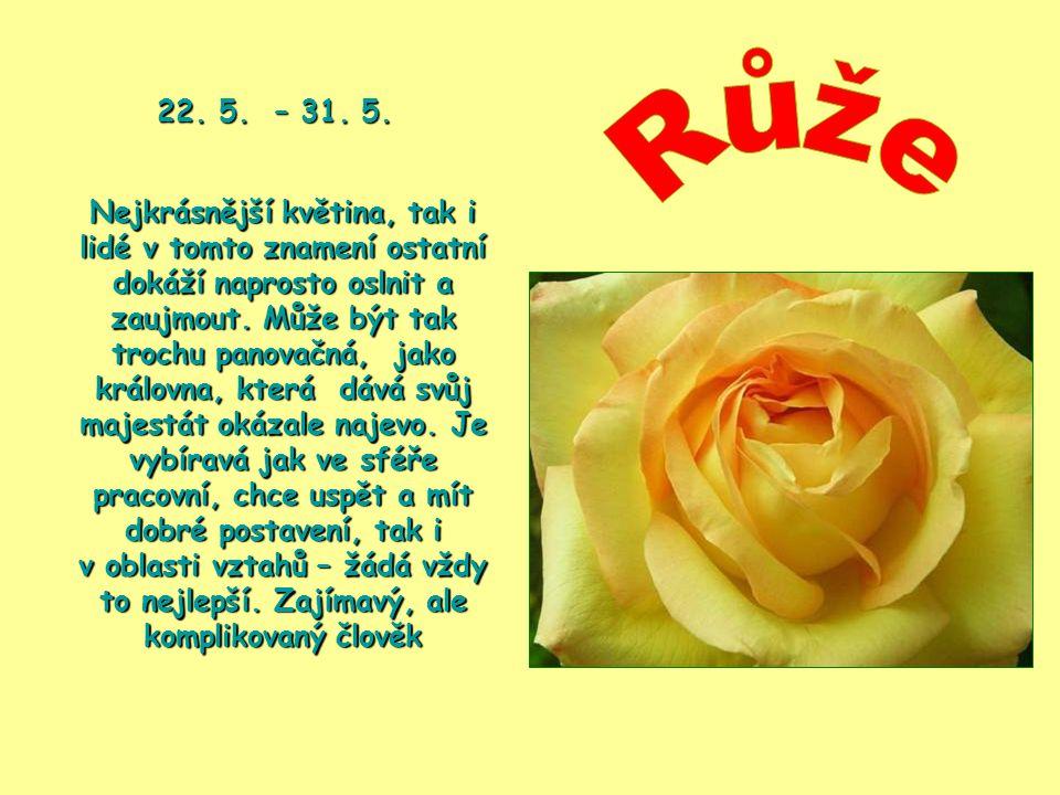 22. 5. – 31. 5. Růže.