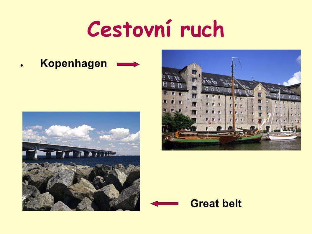 Cestovní ruch Kopenhagen Great belt