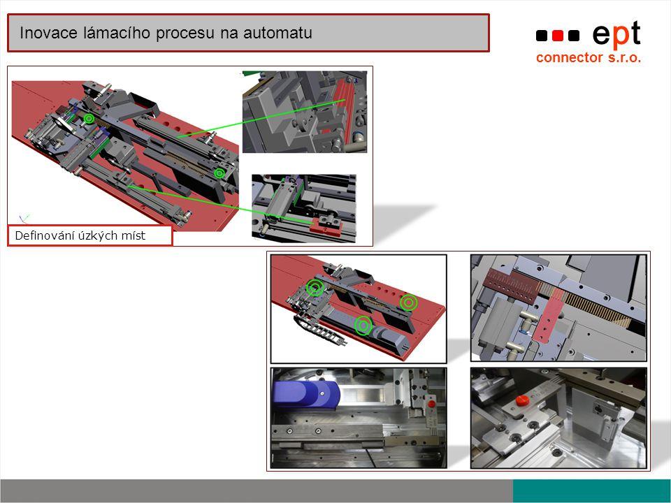 Inovace lámacího procesu na automatu
