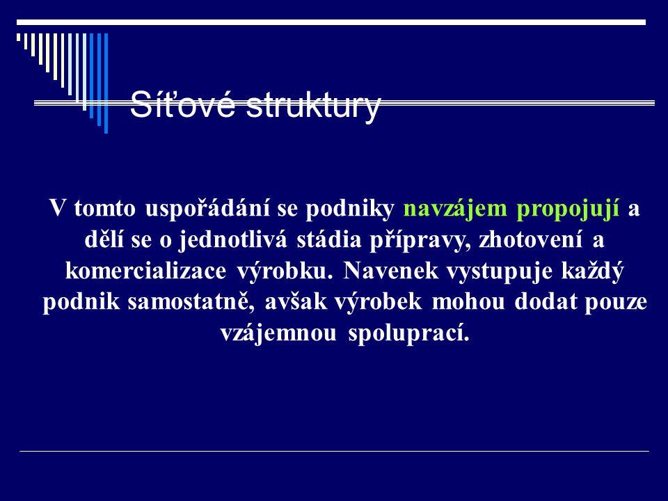 Síťové struktury
