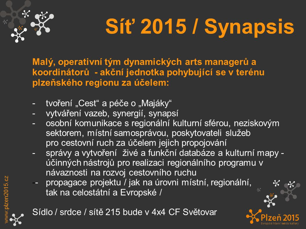 Síť 2015 / Synapsis