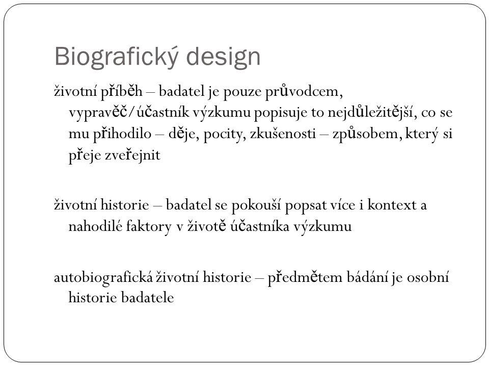 Biografický design