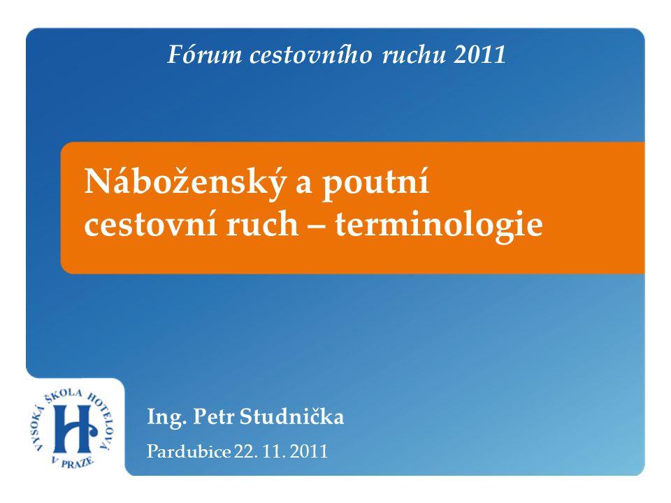 Fórum cestovního ruchu 2011