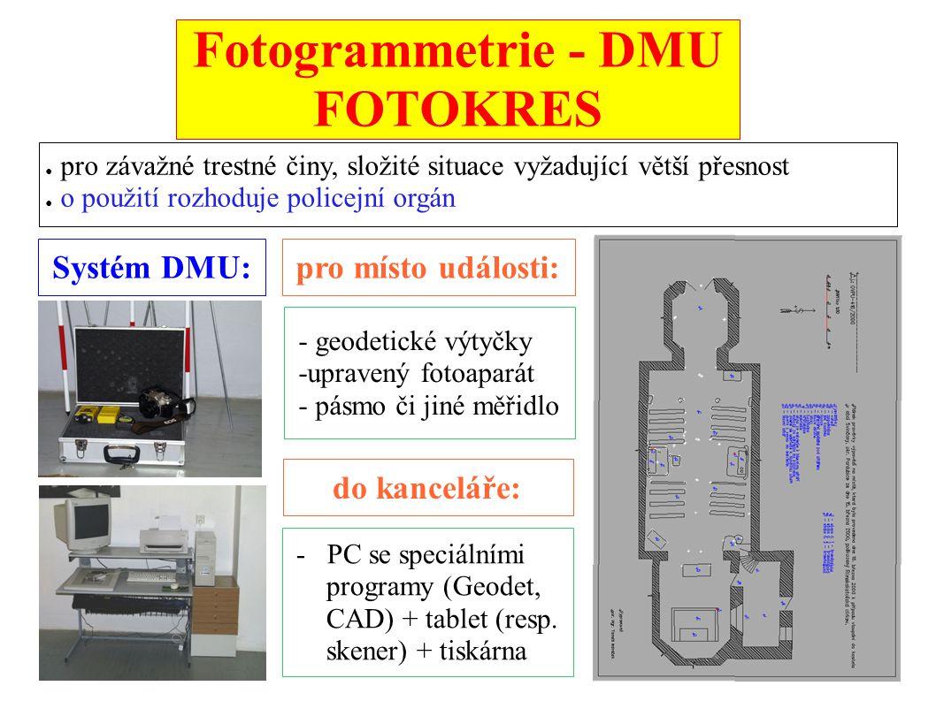 Fotogrammetrie - DMU FOTOKRES