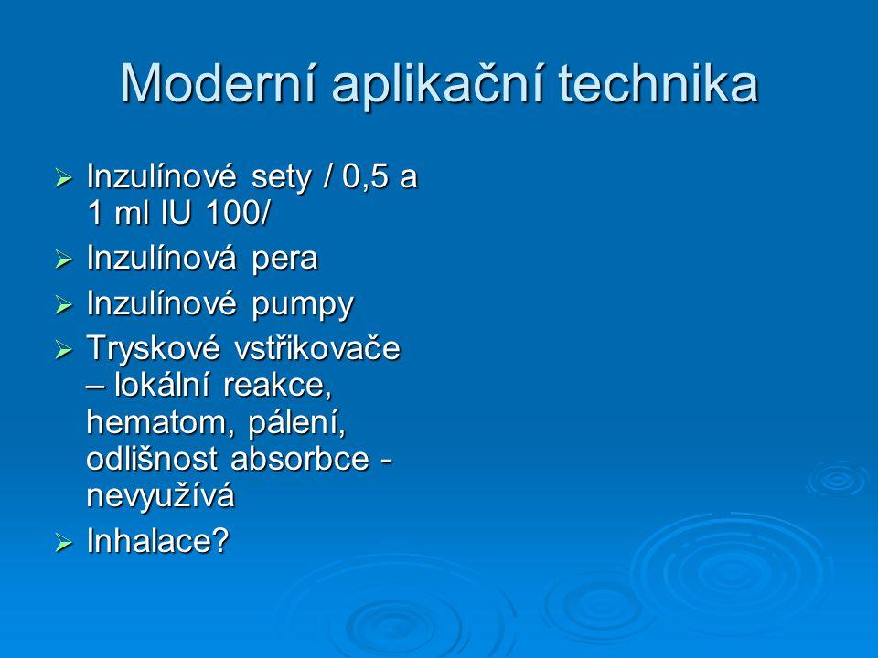 Moderní aplikační technika