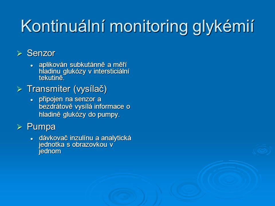 Kontinuální monitoring glykémií
