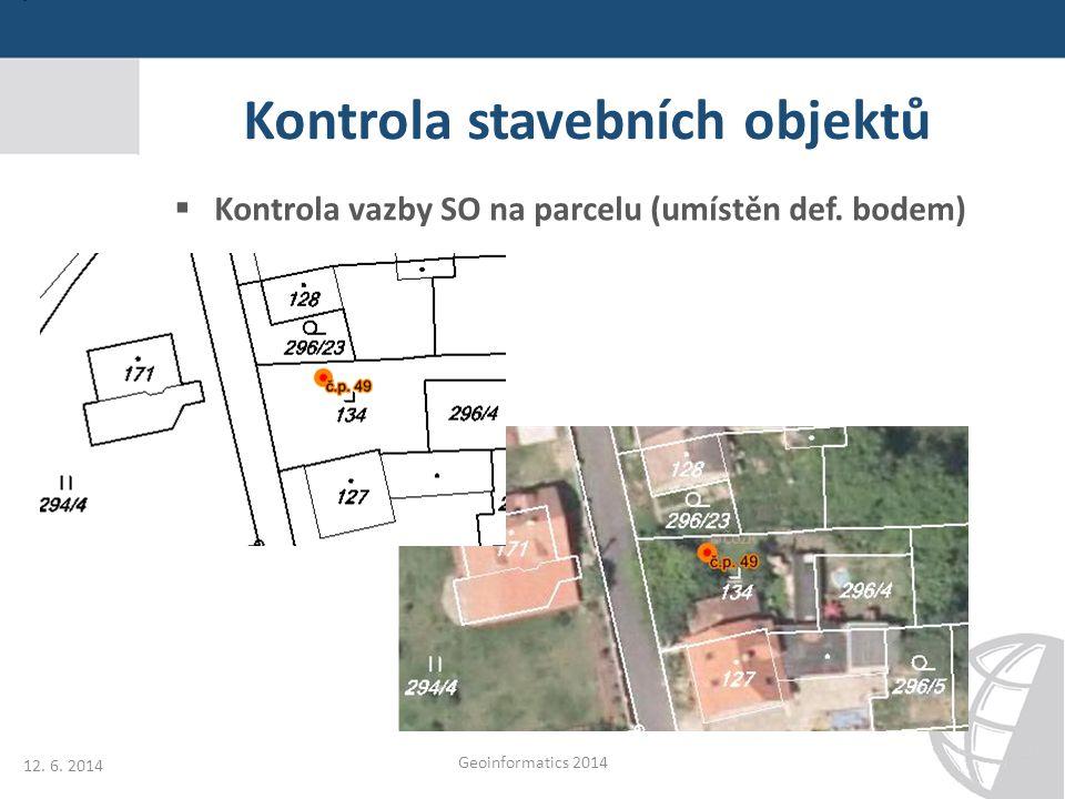 Kontrola stavebních objektů