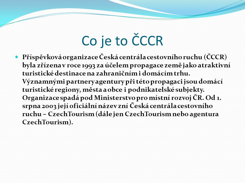 Co je to ČCCR