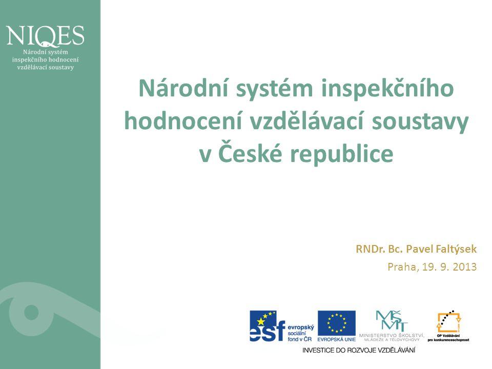 Národní systém inspekčního hodnocení vzdělávací soustavy v České republice