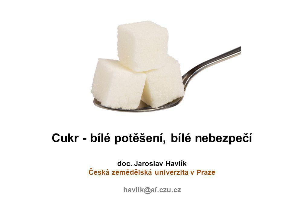 Cukr - bílé potěšení, bílé nebezpečí doc