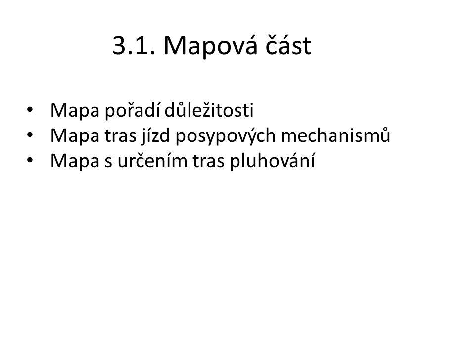 3.1. Mapová část Mapa pořadí důležitosti