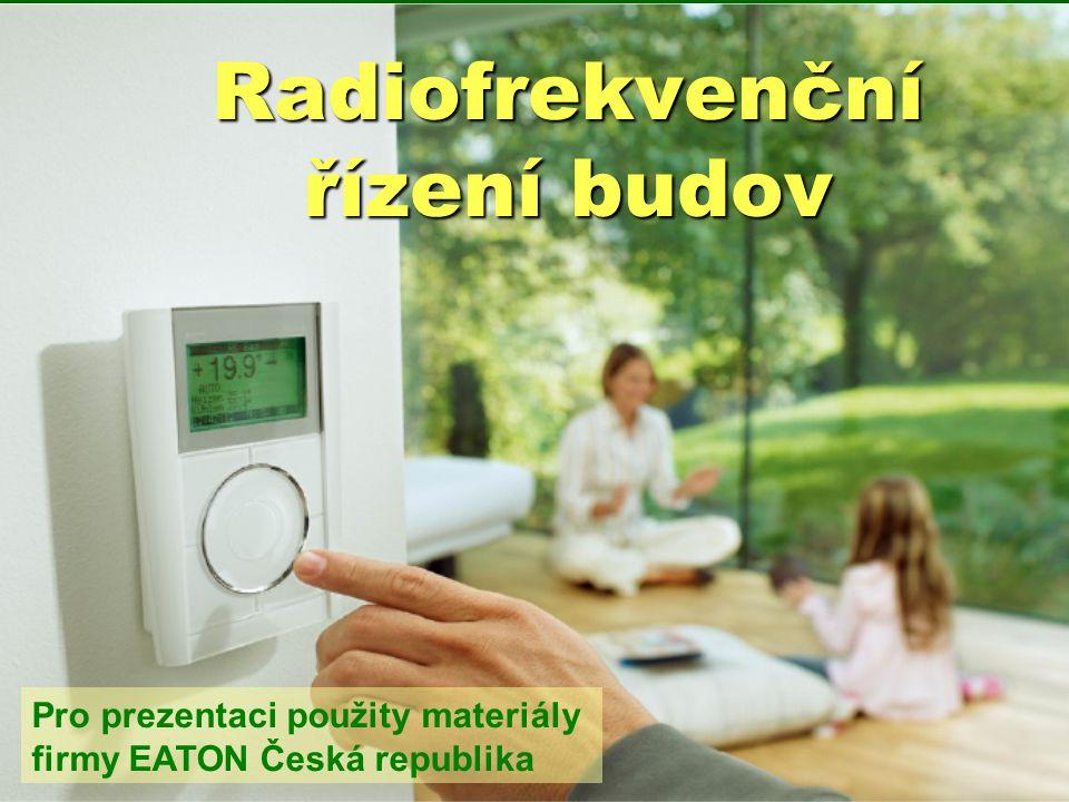 Radiofrekvenční řízení budov