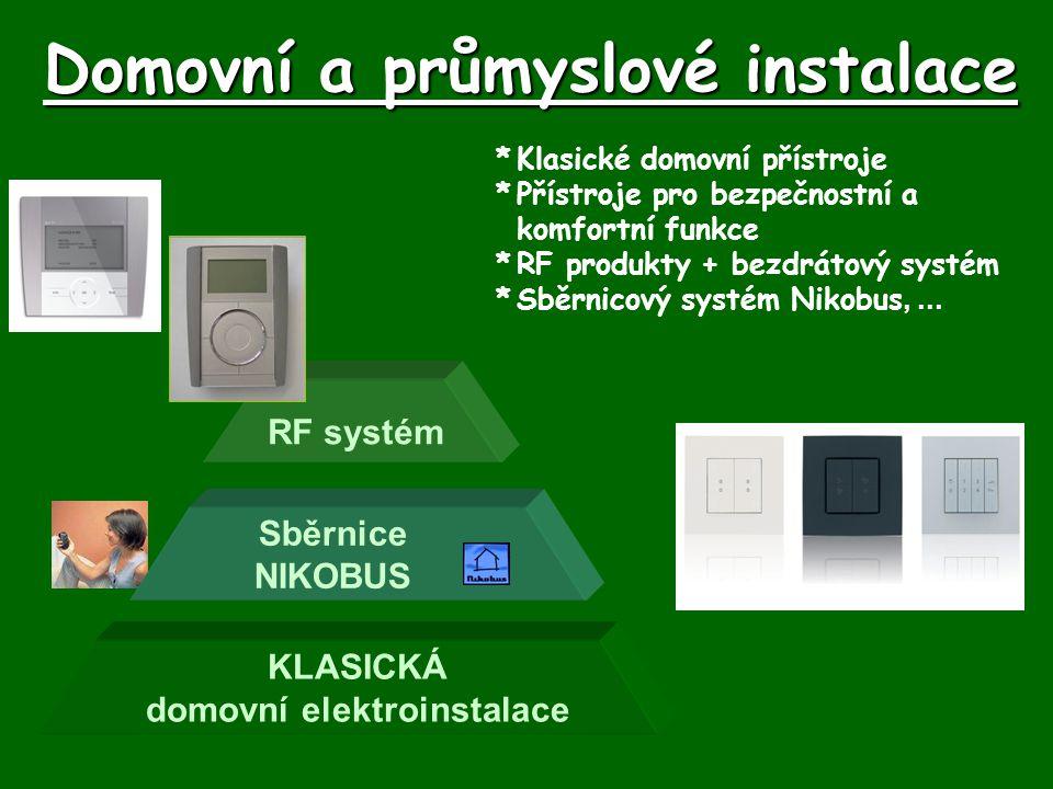 Domovní a průmyslové instalace