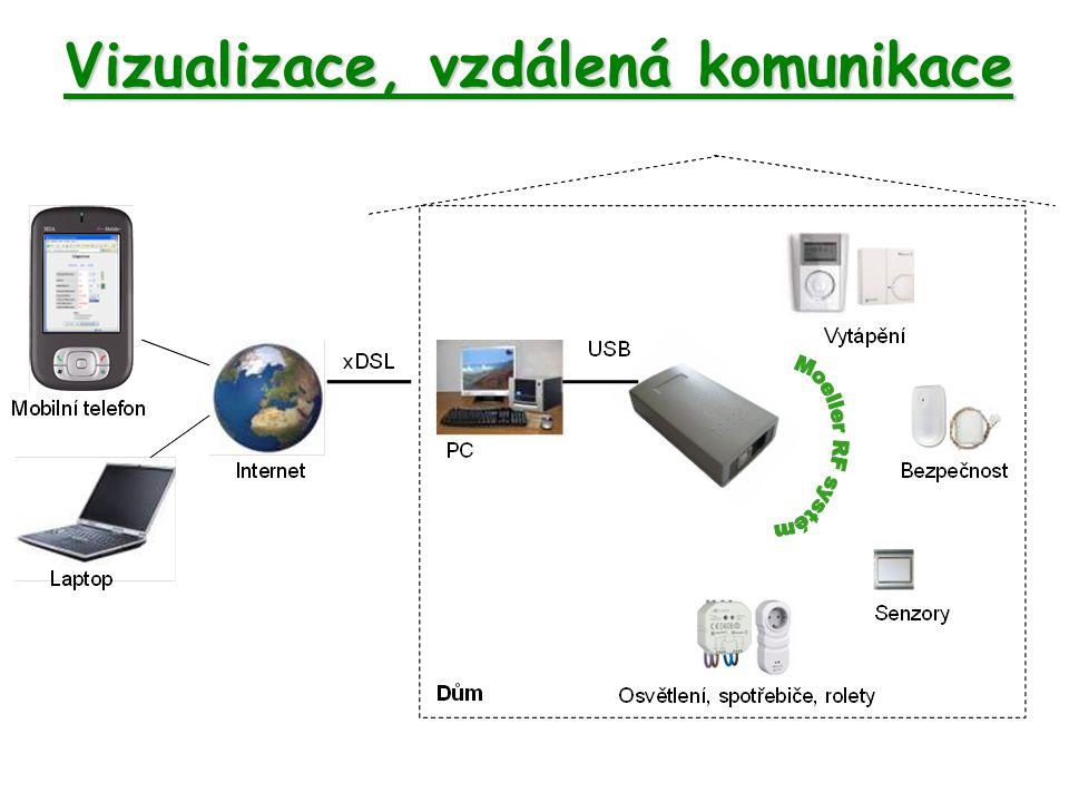 Vizualizace, vzdálená komunikace