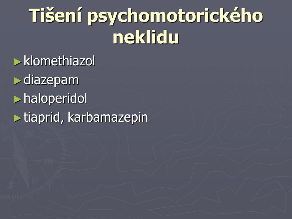Tišení psychomotorického neklidu