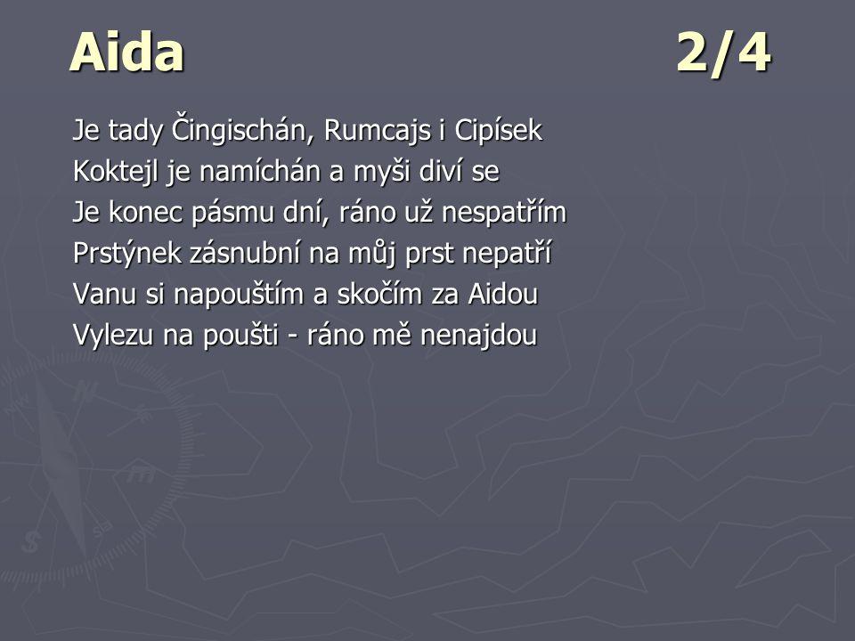 Aida 2/4 Je tady Čingischán, Rumcajs i Cipísek