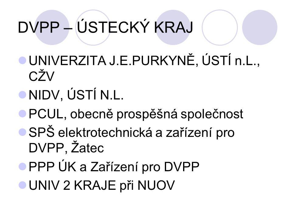 DVPP – ÚSTECKÝ KRAJ UNIVERZITA J.E.PURKYNĚ, ÚSTÍ n.L., CŽV