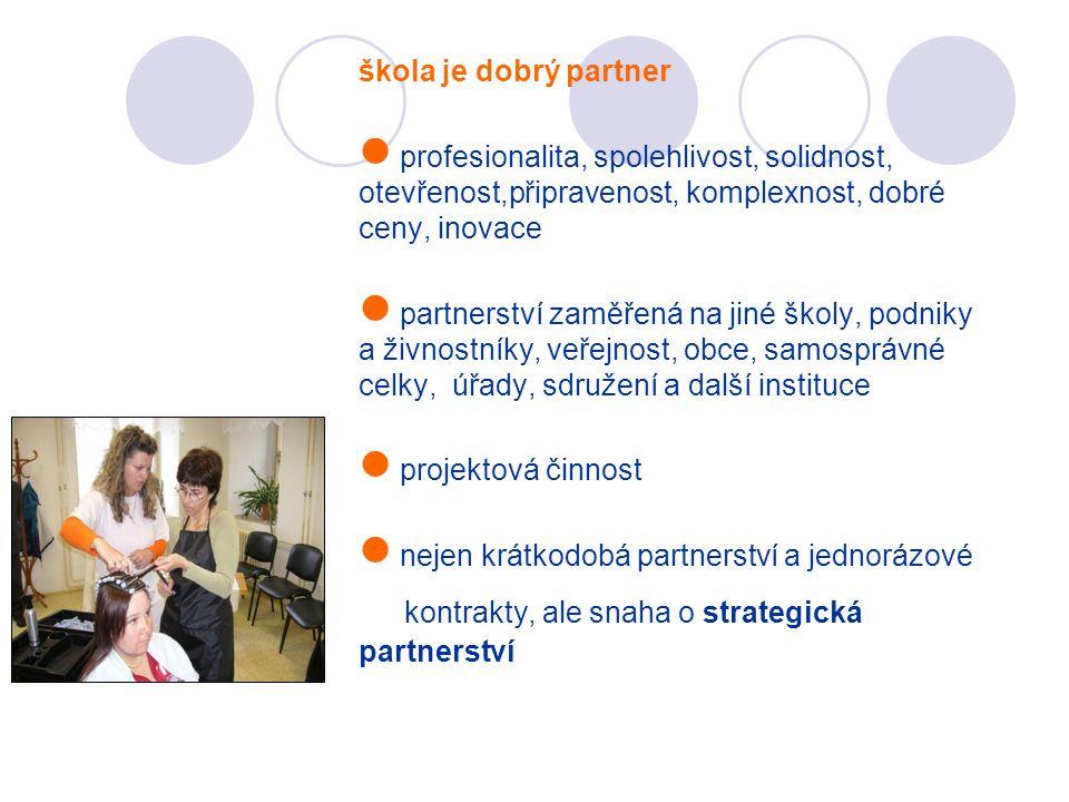 kontrakty, ale snaha o strategická partnerství
