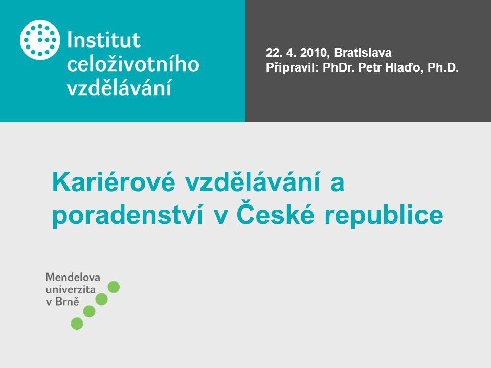 Kariérové vzdělávání a poradenství v České republice