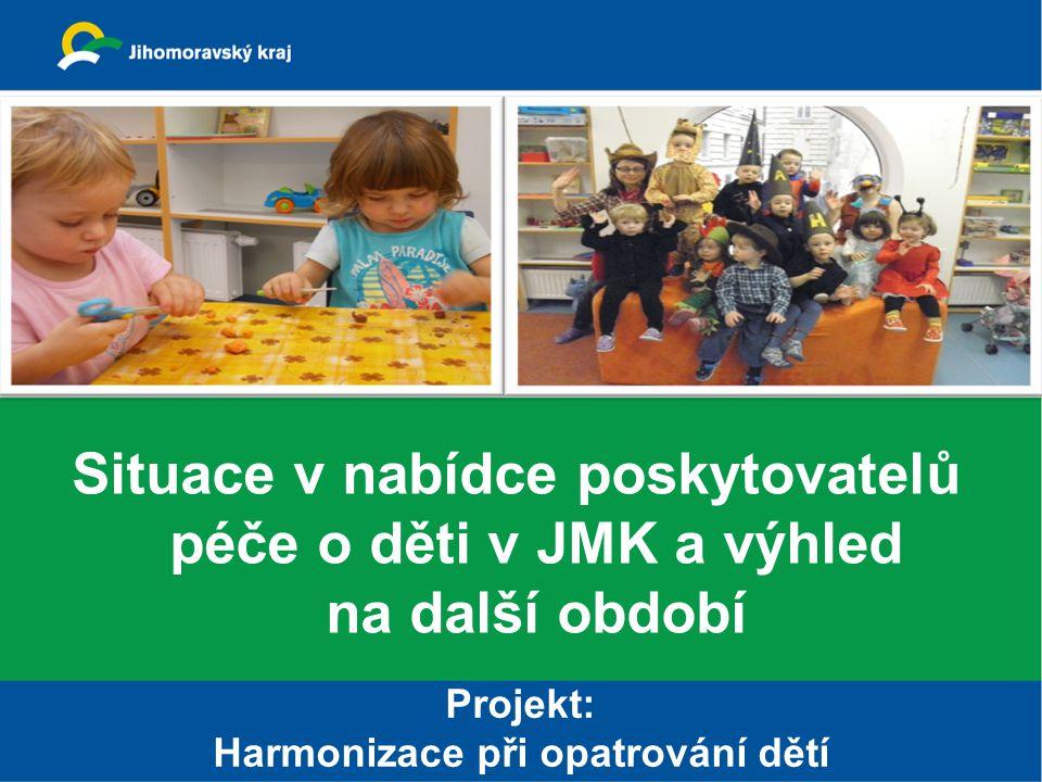 Harmonizace při opatrování dětí