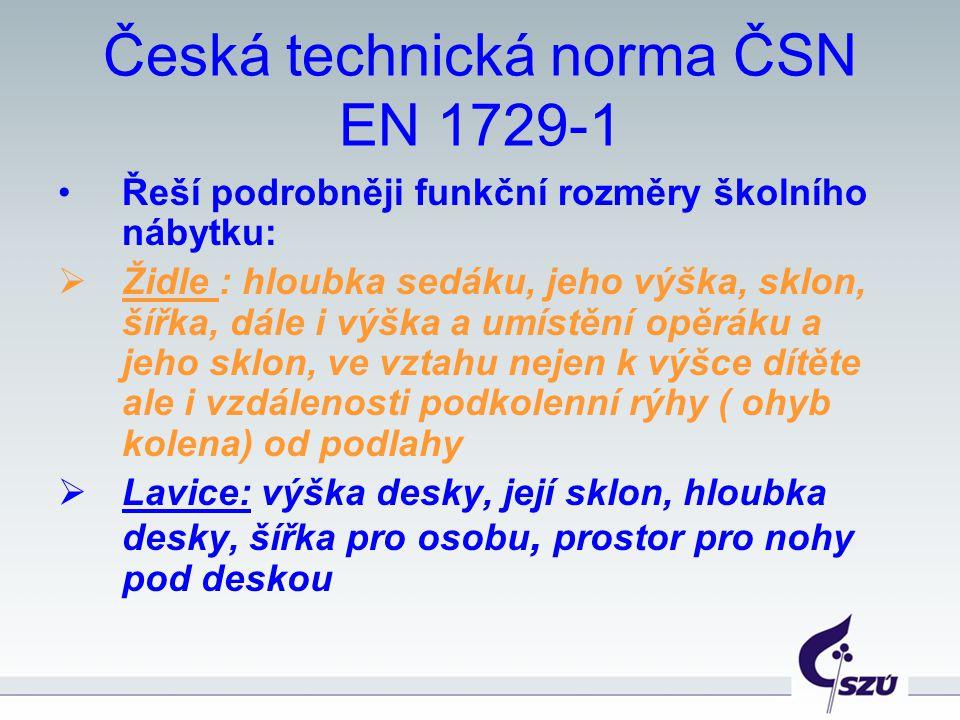 Česká technická norma ČSN EN 1729-1