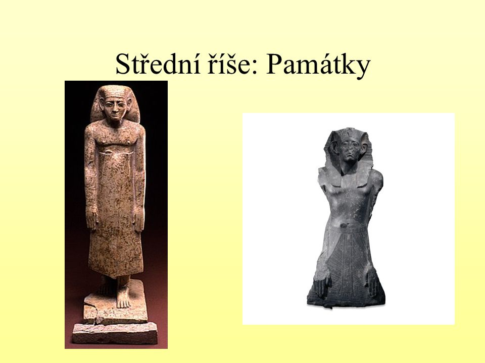 Střední říše: Památky
