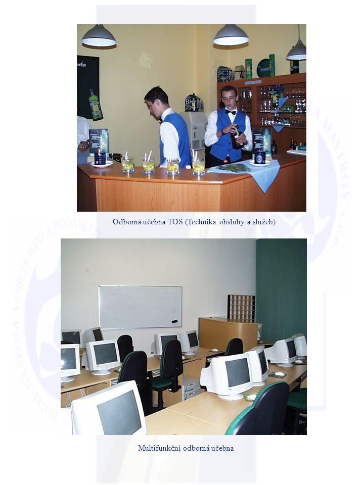 Odborná učebna TOS (Technika obsluhy a služeb)