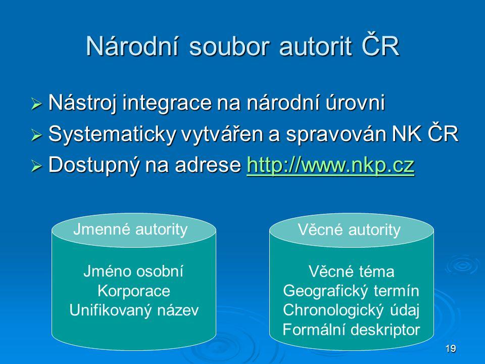 Národní soubor autorit ČR