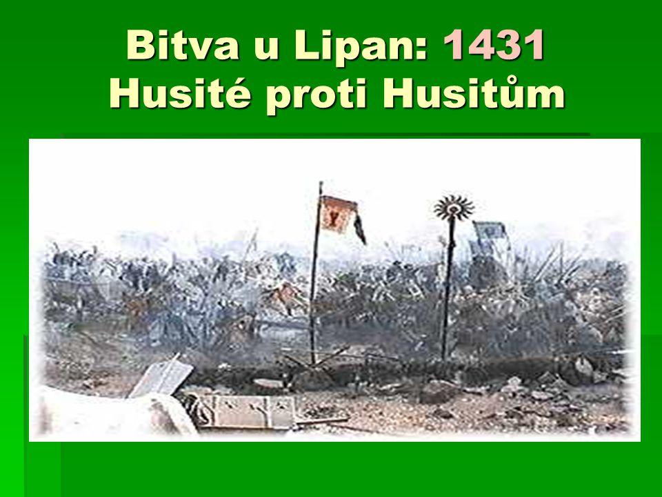 Bitva u Lipan: 1431 Husité proti Husitům