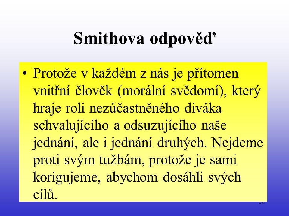 Smithova odpověď