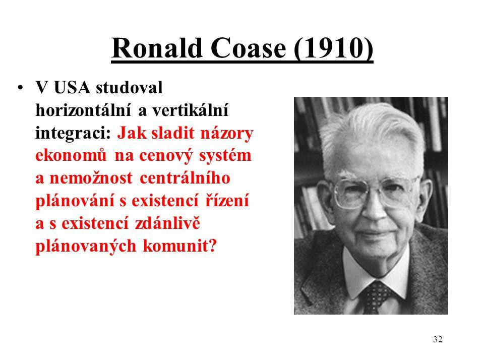 Ronald Coase (1910)