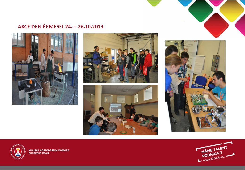 AKCE DEN ŘEMESEL 24. – 26.10.2013