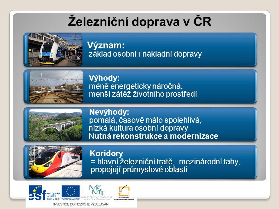 Železniční doprava v ČR