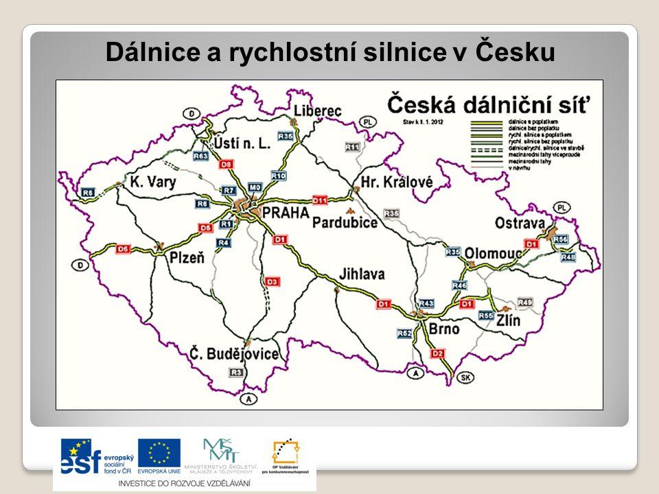 Dálnice a rychlostní silnice v Česku