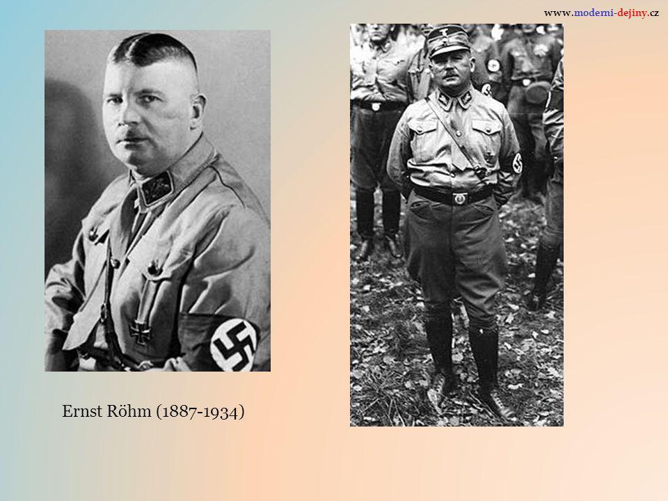 www.moderni-dejiny.cz Ernst Röhm (1887-1934)