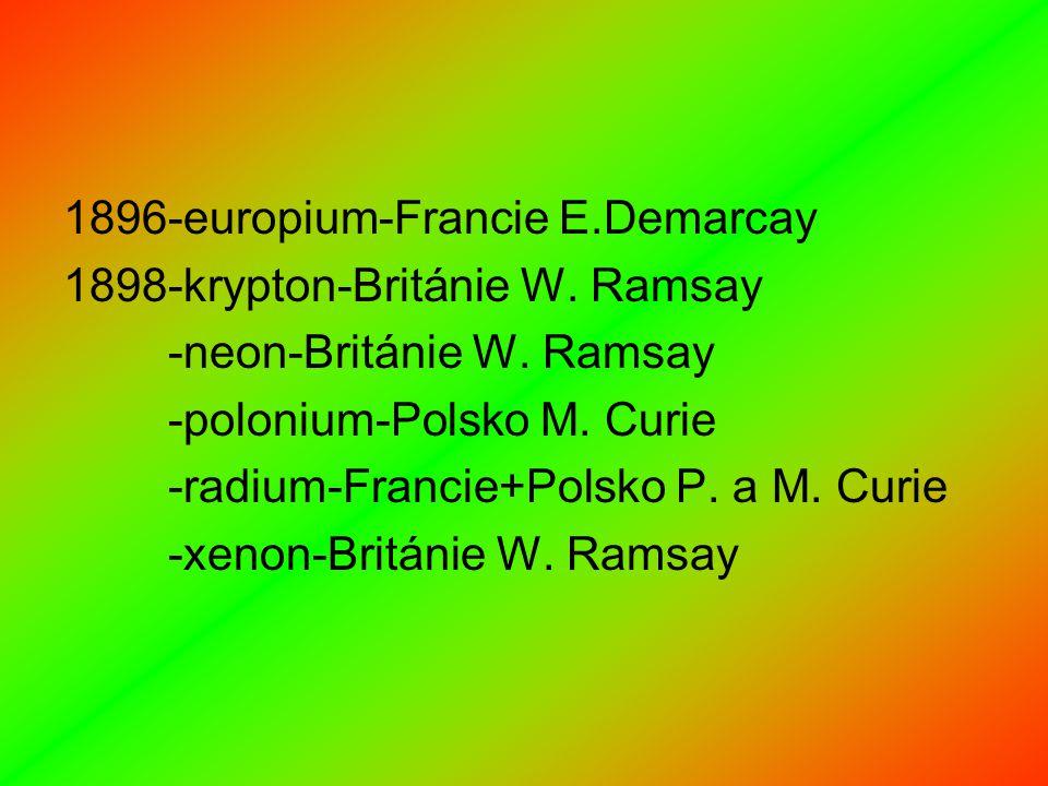 1896-europium-Francie E.Demarcay
