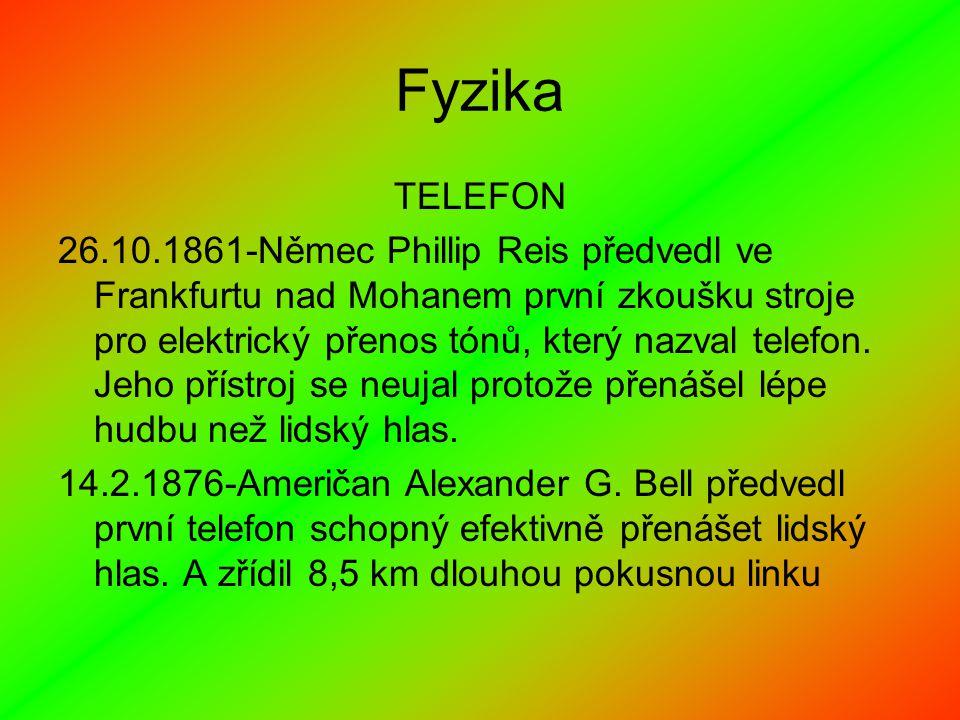 Fyzika TELEFON.