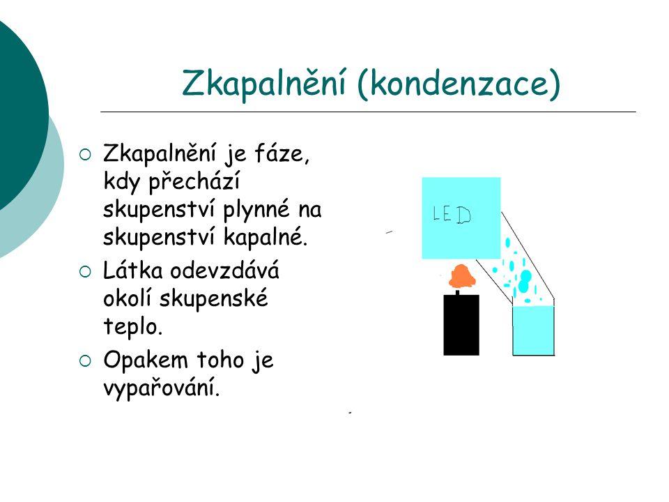 Zkapalnění (kondenzace)