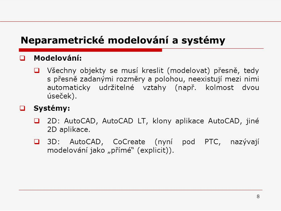 Neparametrické modelování a systémy