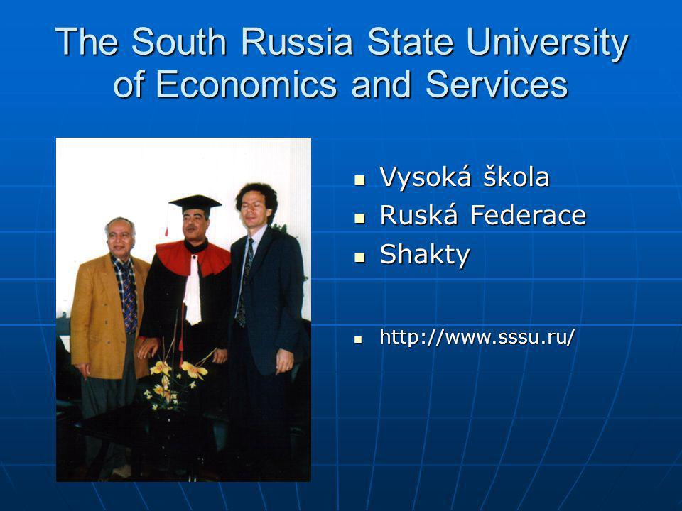 The South Russia State University of Economics and Services