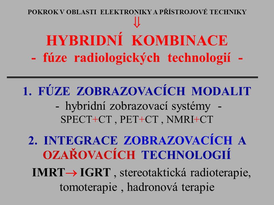 HYBRIDNÍ KOMBINACE - fúze radiologických technologií - 
