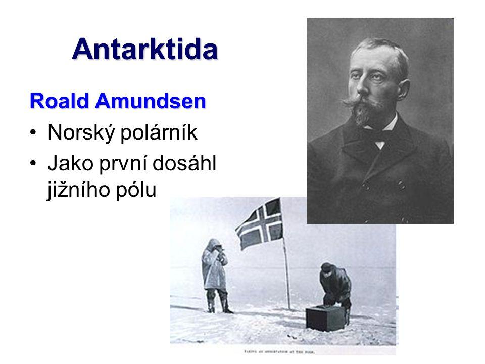 Antarktida Roald Amundsen Norský polárník