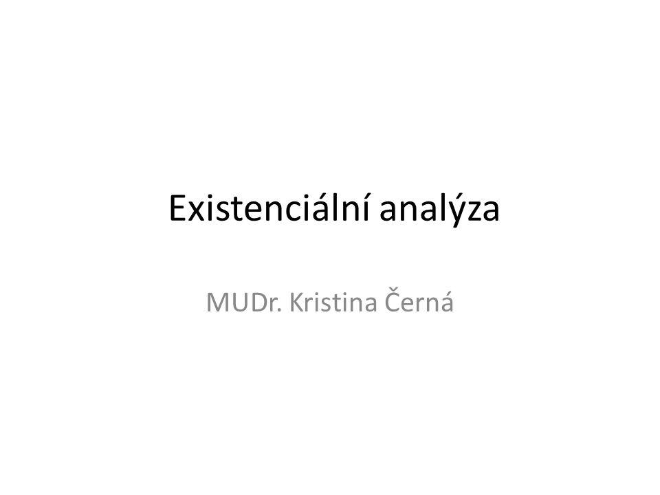 Existenciální analýza