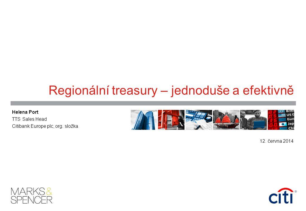 Regionální treasury – jednoduše a efektivně