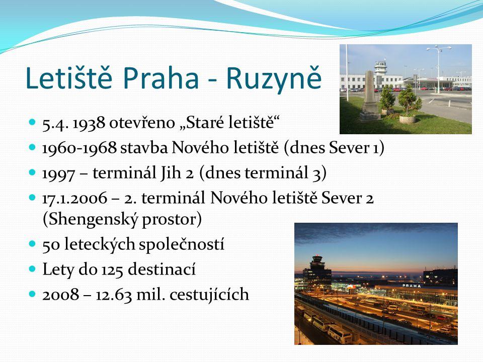 """Letiště Praha - Ruzyně 5.4. 1938 otevřeno """"Staré letiště"""