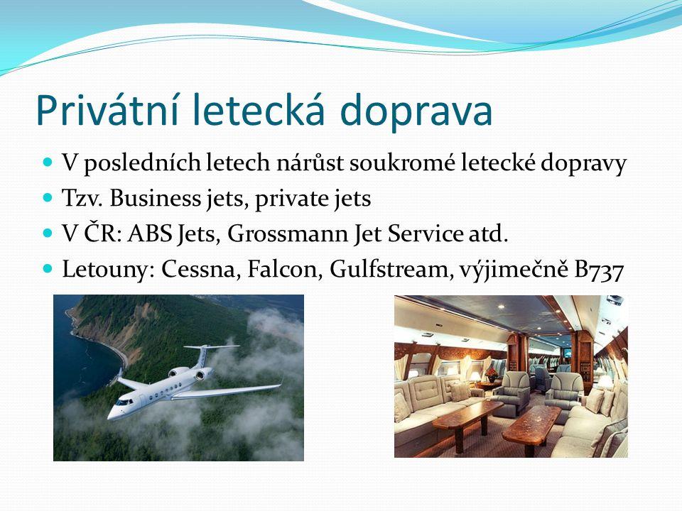 Privátní letecká doprava