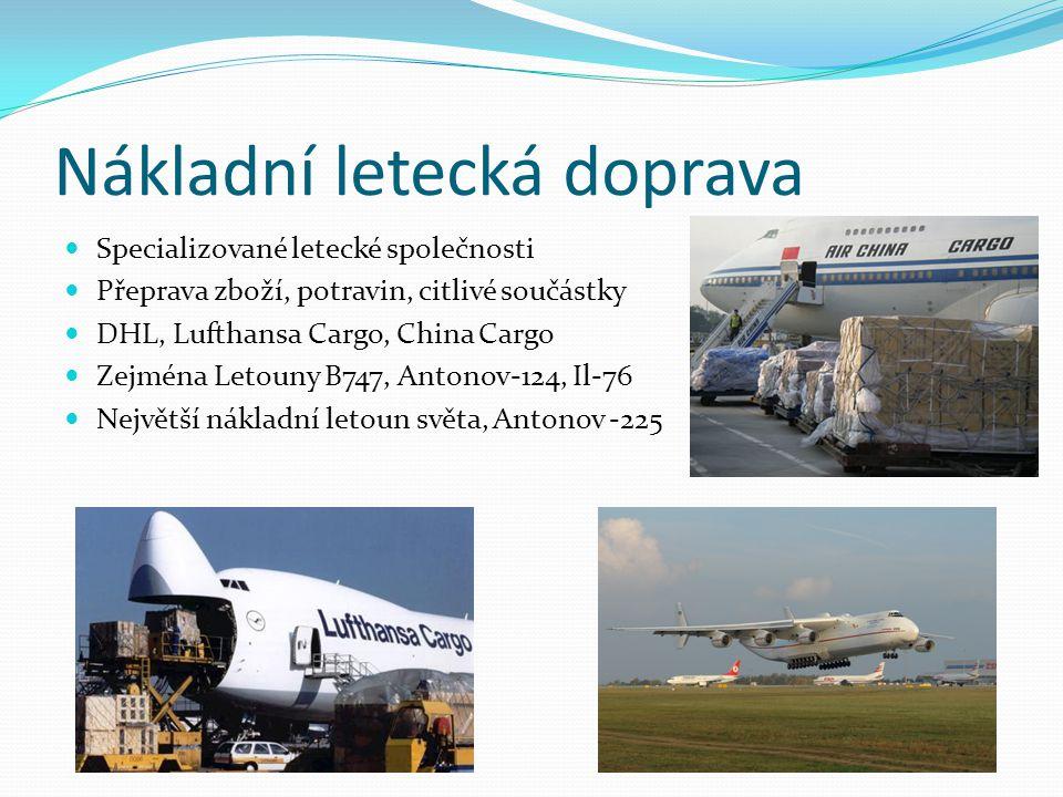 Nákladní letecká doprava